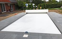 Pool shutters